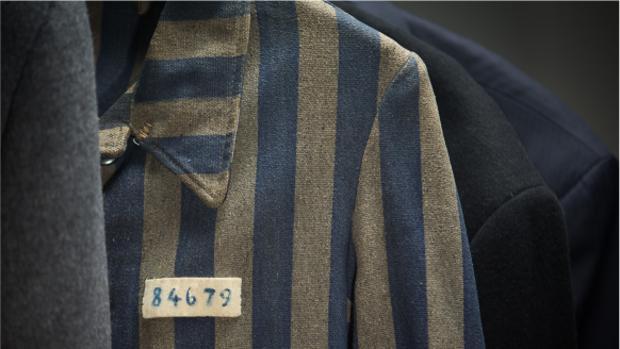 La chaqueta del prisionero 84679 del campo de concentración de Dachau
