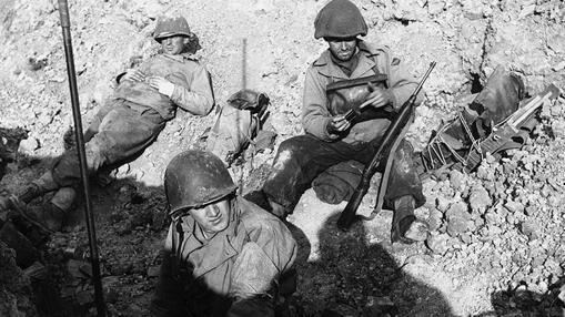 Rangers, descansando tras Point du Hoc