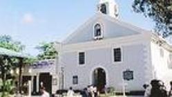 Iglesia de Baler, a día de hoy