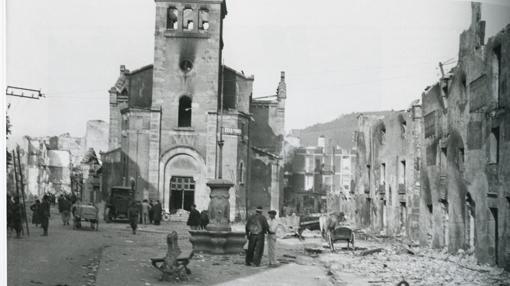 Bombardeo de guernica von richthofen el nazi que masacr - El tiempo en guernika ...