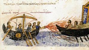 El fuego griego, la misteriosa arma usada por 'Roma' contra los árabes