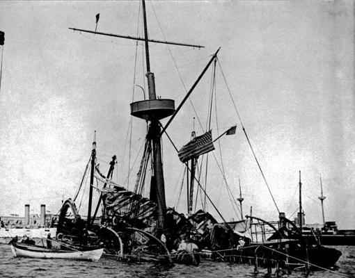 Restos del «USS Maine»
