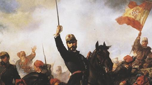 «El general Prim en la Guerra de África»