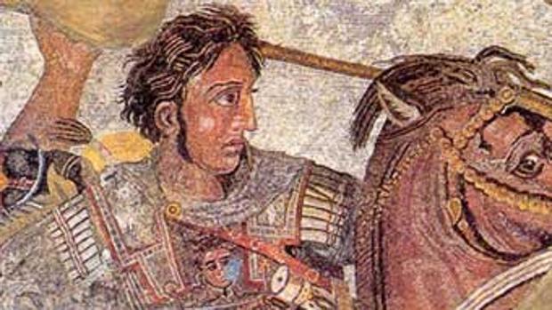 Alejandro Magno es el protagonista de una de las novelas de la colección