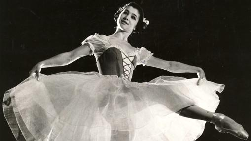 La gran bailarina Ekaterina Maxinova