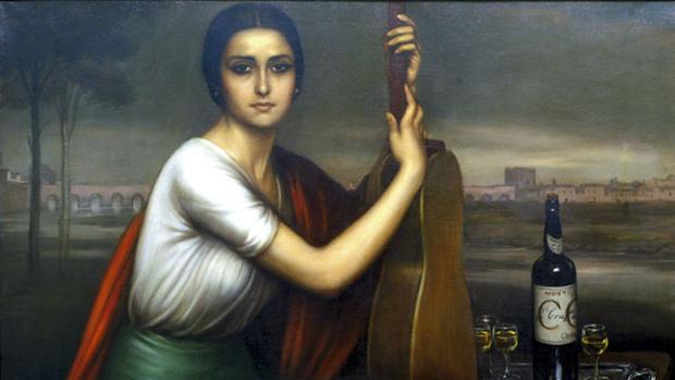 Dolores Castro Ruiz, modelo del cuadro La Cordobesa