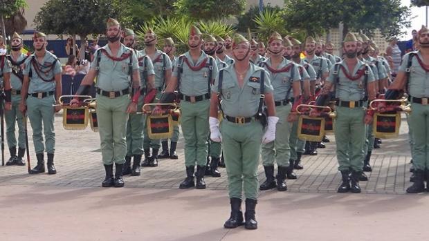 La Legión, duranet el eevnto