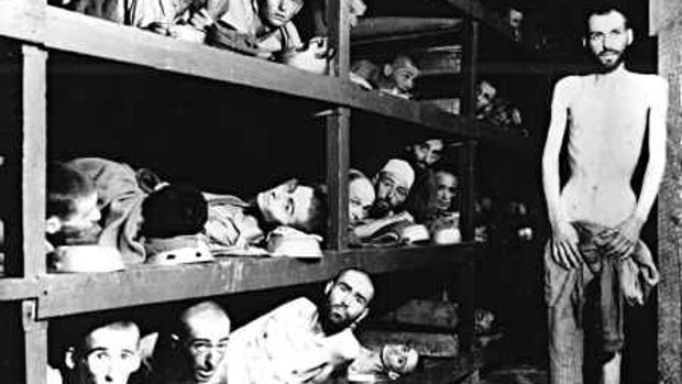 Presos en campos de concentración