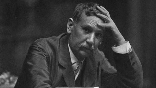 Benito Pérez Galdós, pocos años antes de morir