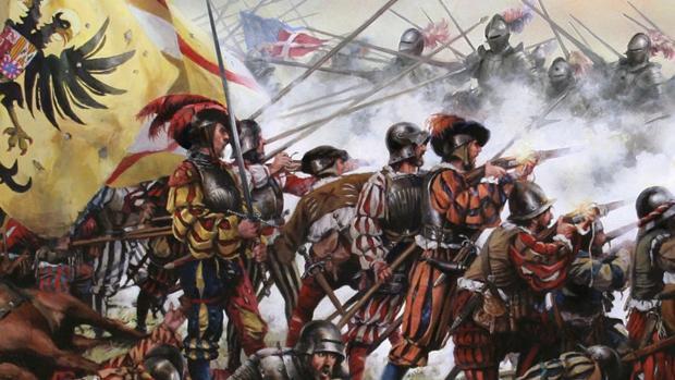 Batalla de Pavia, por Augusto Ferrer-Dalmau Nieto