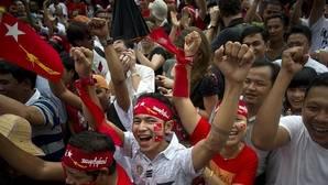 El Gobierno de Birmania reconoce su derrota ante la arrolladora victoria de Aung San Suu Kyi