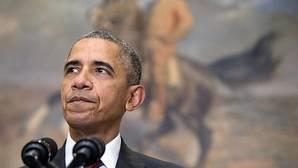 Un hombre salta la valla de la Casa Blanca en plena celebración de Acción de Gracias por la familia Obama