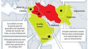 Suníes contra chiíes, conflicto por el liderazgo del islam