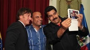 Sean Penn contactó con el hijo de El Chapo en Venezuela bajo protección chavista