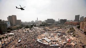 Al Sisi blinda El Cairo en el quinto aniversario de las manifestaciones en Tahrir
