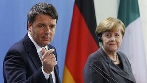 Renzi advierte a Merkel de que «si falla Schengen, falla Europa»