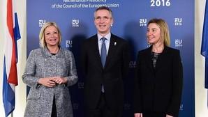 La OTAN acusa a Rusia de socavar solución en Siria con sus bombardeos a la oposición