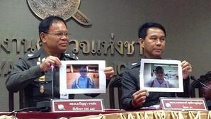 La Policía tailandesa muestra una fotografía de Artur Segarra