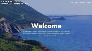 La isla canadiense que acogerá a «refugiados» estadounidenses si Trump llega a la presidencia