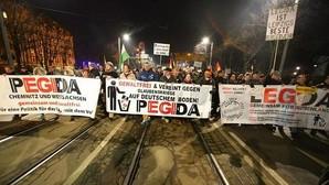 Gritos de «¡Heil Hitler!» en el centro de Leipzig