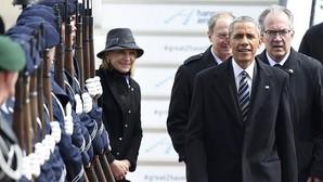 Obama llega a Alemania para reunirse con Merkel, Hollande, Cameron y Renzi