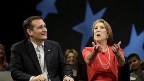 Ted Cruz elige a la excandidata republicana Carly Fiorina como su número dos para las elecciones
