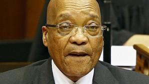 El presidente Zuma en el Parlamento