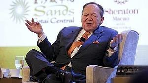 El magnate de Eurovegas, Sheldon Adelson, muestra su apoyo a Trump