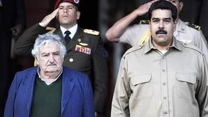 José Mújica y Nicolás Maduro, en una fotografía de archivo