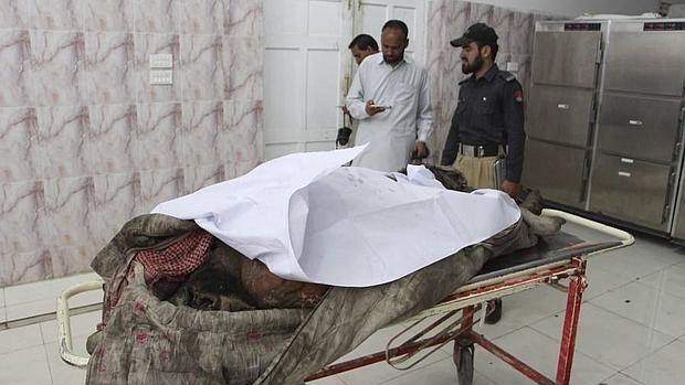 Uno de los muertos durante el ataque estadounidense que quitó la vida al mulá Mansur