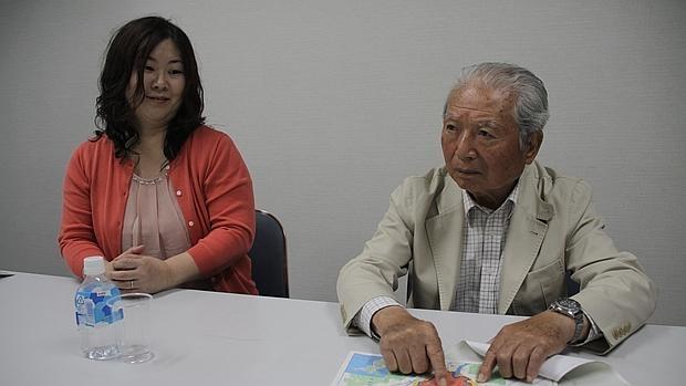 Masahiro Kunishige, superviviente de la bomba atómica de Hiroshima