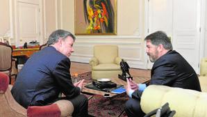 Juan Manuel Santos: «Gestionar la paz es más difícil que hacer la guerra»