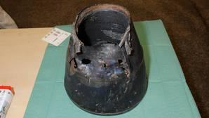 Publican la foto de un fragmento de misil hallado en el lugar donde se estrelló el vuelo MH17 en Ucrania