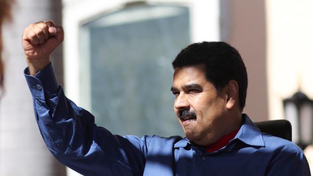 El presidente de Venezuela, Nicolás Maduro, en su discurso de este viernes en Caracas
