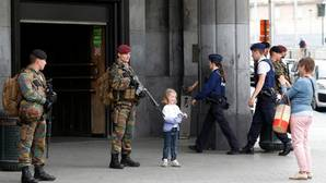 La estación central de trenes de Bruselas, evacuada por una falsa alarma