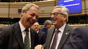 Farage, en Bruselas: «Cuando llegué aquí se reían de mí, ¿a que ahora ya no se ríen?»