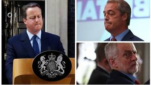 El Brexit se lleva por delante a los líderes de los partidos políticos británicos