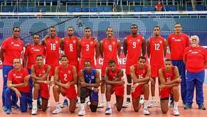 Seis miembros de la selección cubana de voleibol continúan detenidos por presunta violación