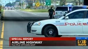 Tres policías muertos en un tiroteo en Baton Rouge, EE.UU.