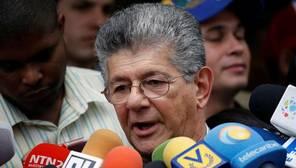 La alianza opositora condiciona el diálogo con Maduro a que se avance en el referéndum revocatorio