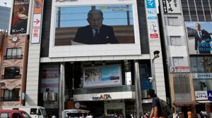 El Emperador de Japón abre la puerta a su abdicación por su delicada salud