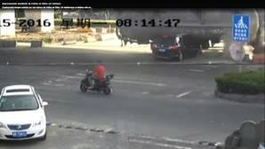 El impresionante accidente de tráfico en China en el que todos sobreviven