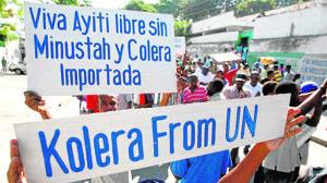 La ONU reconoce su culpa en la epidemia de cólera de Haití