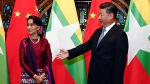 Aung San Suu Kyi busca el apoyo de China al proceso de paz en Birmania