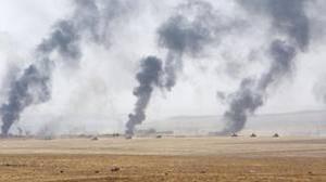 Unos 70.000 civiles están retenidos por Daesh en la ciudad iraquí de Al Qayara