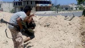 Así combate el Ejército libio a Daesh, calle por calle