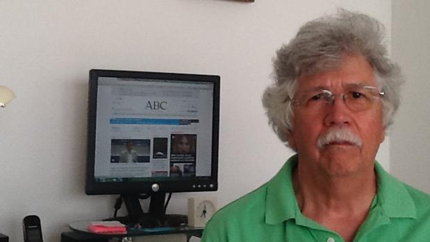 Pedro Manuel Ontiveros, presidente de la Asociación de Pensionados y Jubilados de Venezuela en la Comunidad de Madrid