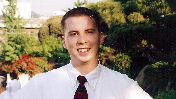 Foto de archivo de David Sneddon, desaparecido oficialmente en China en 2004