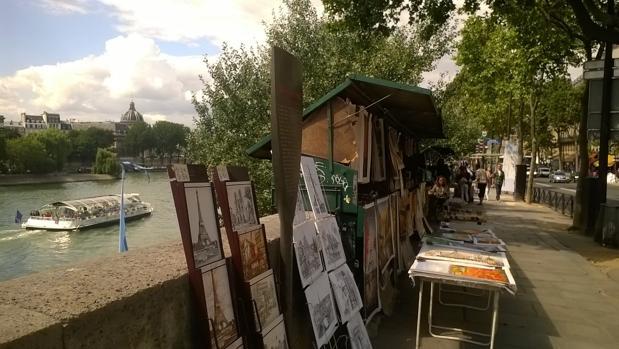 La lenta desaparición del centro cultural de París