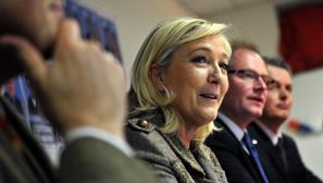 Le Pen promete un referéndum de salida de la UE si gana las presidenciales de 2017